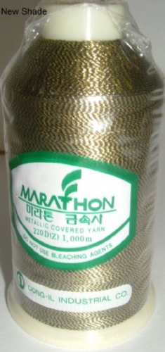 Marathon Rayon Embroidery Machine Thread Metallic - 3013